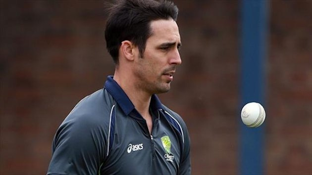 Mitchell Johnson claimed two wickets in the second ODI