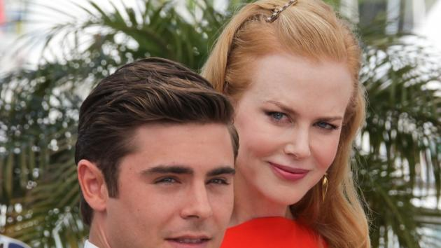 Zac Efron and Nicole Kidman attend 'The Paperboy' photocall during the 65th Annual Cannes Film Festival, at Palais des Festivals in Cannes, France on May 24, 2012 -- Getty Premium