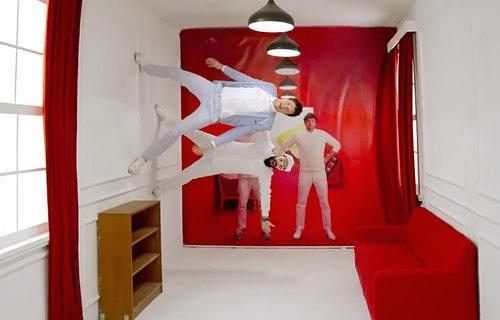 Video Interlude: OK Go's New Furniture Ad is as Trippy as Their Music Videos