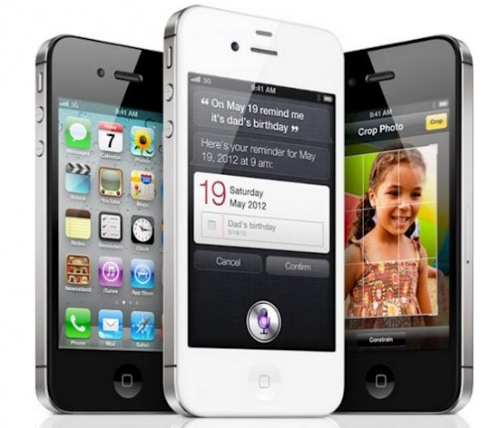 L'iPhone 4S propose le même design que l'iPhone 4