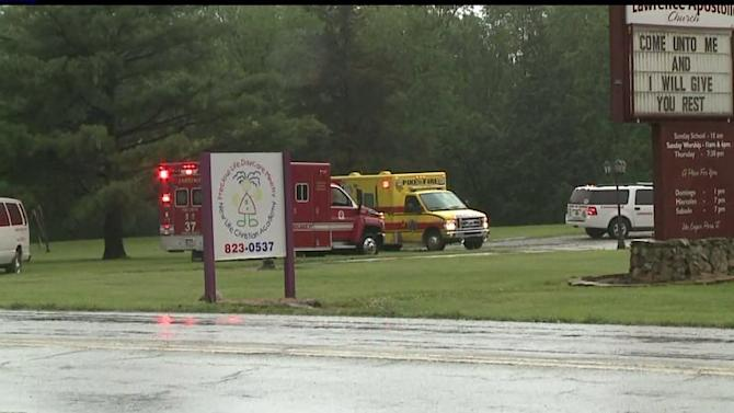 Church Fire Threatens Day Care
