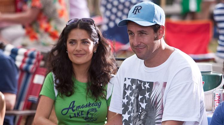 Grown Ups Columbia Pictures 2010 Salma Hayek Adam Sandler