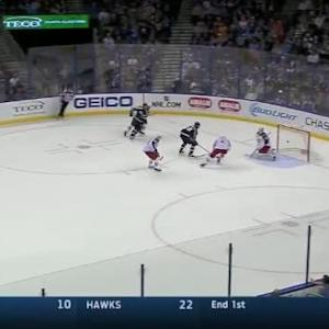 Brett Connolly Goal on Curtis McElhinney (19:36/1st)