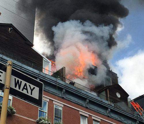 Week in Review: East Village Rooftop Cottage Burns; Brooklyn Bungalows