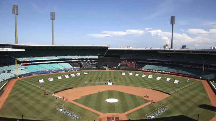 G'day, baseball! Opening day goes Down Under