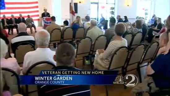 Veteran and family to get new home