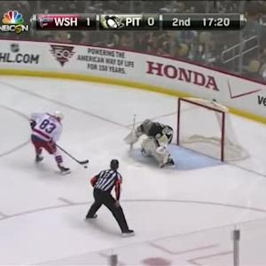 Marc-Andre Fleury Save on Jay Beagle (02:43/2nd)