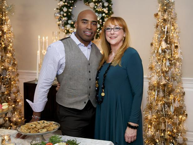 Tiki Barber and Designer Robin Baron