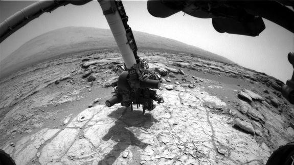 NASA's Curiosity Rover Poised to Drill Into Mars