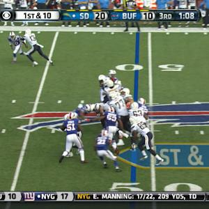 Buffalo Bills linebacker Preston Brown's Week 3 tackles