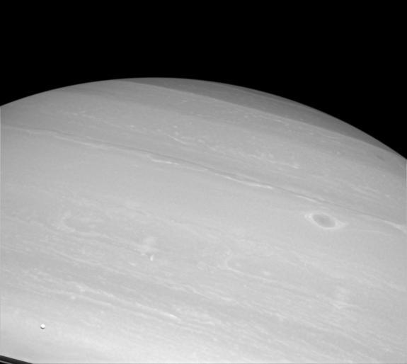 Saturn's Rings Caught Streaking in NASA Photos