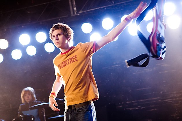 Scott Pilgrim vs the World 2010 Production Photos Universal Pictures Michael Cera
