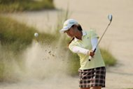 Japan's Ai Miyazato during the US Women's Open on July 6. She starts her bid for a third win in four years at the Evian Masters in France on Thursday -- and the Japanese player is also chasing a third victory of a successful season