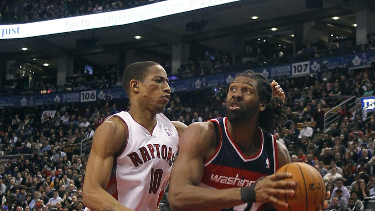 NBA: Washington Wizards at Toronto Raptors