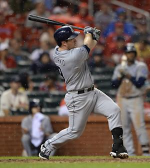 Gyorko powers Padres past Cardinals, 9-5