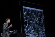 Apple Senior VP of iPhone Software Scott Forstall demonstrates the new map application in June 2012. The new map program was released this week as part of Apple&#39;s iOS 6 mobile operating software, which powers its new iPhone 5 released Friday and can be installed as an upgrade on other Apple devices