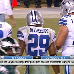 How do the Dallas Cowboys adjust to DeMarco Murray's injury?