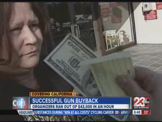 Successful North California gun buyback