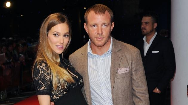 Jacqui Ainsley and Guy Ritchie attend the European premiere special screening of 'The Dark Knight Rises' in London on July 18, 2012 -- Getty Premium