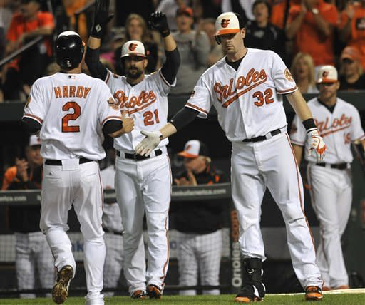 Orioles beat fading Blue Jays 8-2