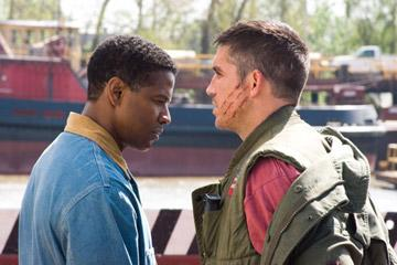 Denzel Washington and Jim Caviezel in Touchstone Pictures' Deja Vu