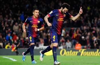 Vilanova: Fabregas wants to stay at Barcelona