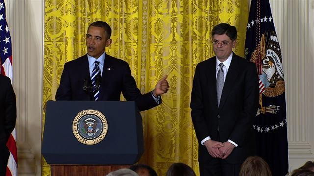 Obama nominates Jack Lew for Treasury secretary