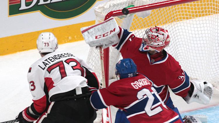 NHL: Stanley Cup Playoffs-Ottawa Senators at Montreal Canadiens