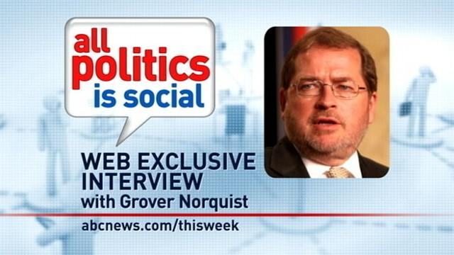 'This Week' Web Extra: Grover Norquist