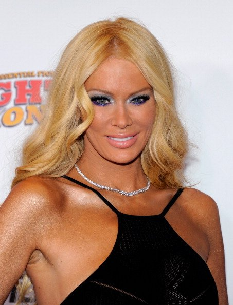 Former adult film actress Jenna Jameson arrives at the Fighters Only World Mixed Martial Arts Awards 2011 at the Palms Casino Resort November 30, 2011 in Las Vegas, Nevada. (Photo by Ethan Miller/Gett