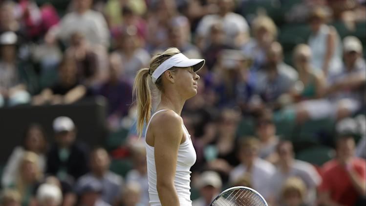 Sharapova to miss season-ending WTA Championships