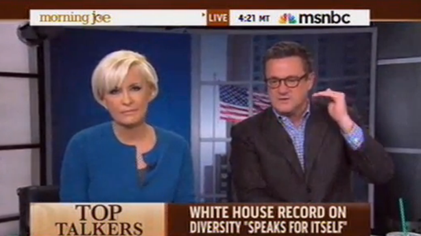 Watch Mika Brzezinski Call Out Joe Scarborough for 'Being Chauvinistic'