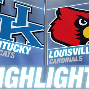 Kentucky vs Louisville | 2014-15 ACC Men's Basketball Highlights
