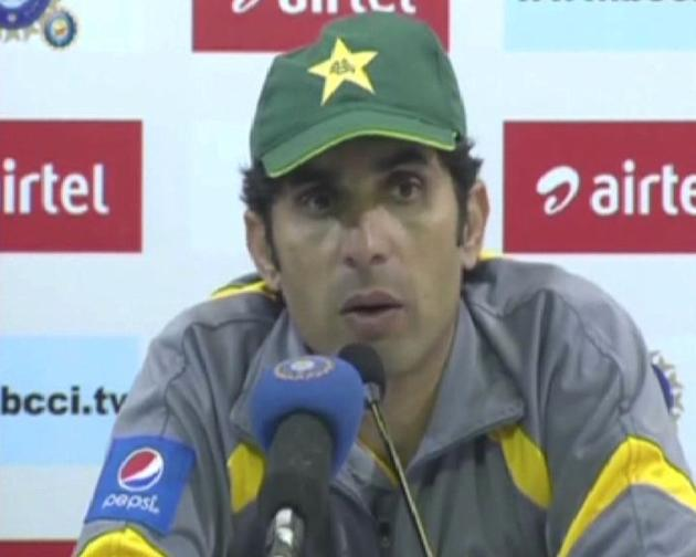 Pakistan Skipper Misbah-Ul-Haq's PC in Delhi