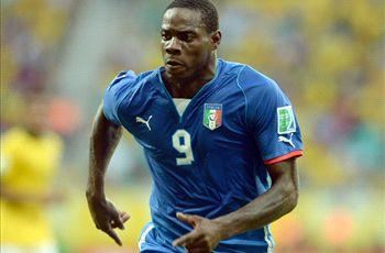 Italy striker Balotelli doubtful for Argentina clash
