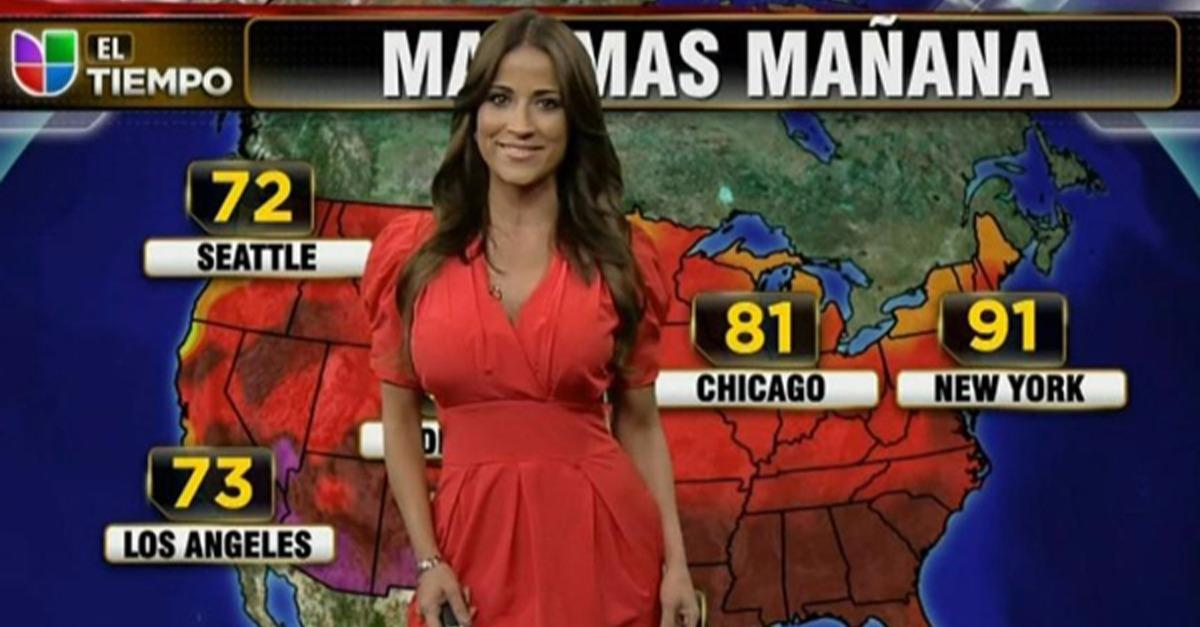 The 20 Most Beautiful Weather Women