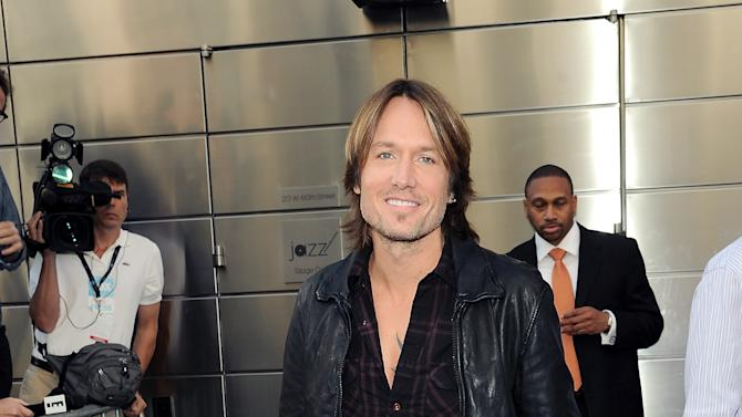 """""""American Idol"""" Season 12 judge Keith Urban arrives for day one auditions at Jazz at Lincoln Center on Sunday, Sept. 16, 2012 in New York. (Photo by Evan Agostini/Invision/AP)"""