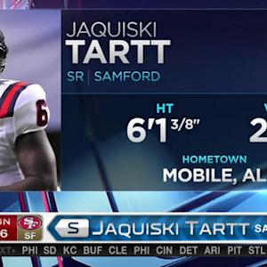 San Francisco 49ers pick safety Jaquiski Tartt No. 46 in 2015 NFL Draft