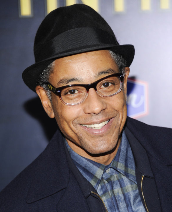 "FILE - In this Dec. 11, 2011 file photo, actor Giancarlo Esposito attends the premiere of ""The Adventures of Tintin"" at the Ziegfeld Theatre in New York. Esposito, Bob Dishy, Zach Grenier, Ron Cephas"