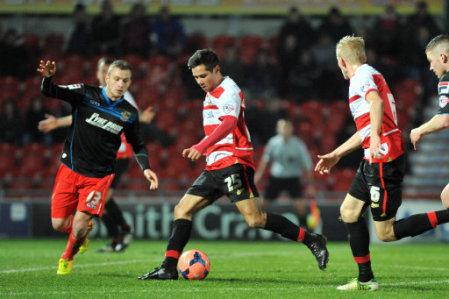 Soccer - FA Cup - Third Round - Doncaster Rovers v Stevenage - Keepmoat Stadium