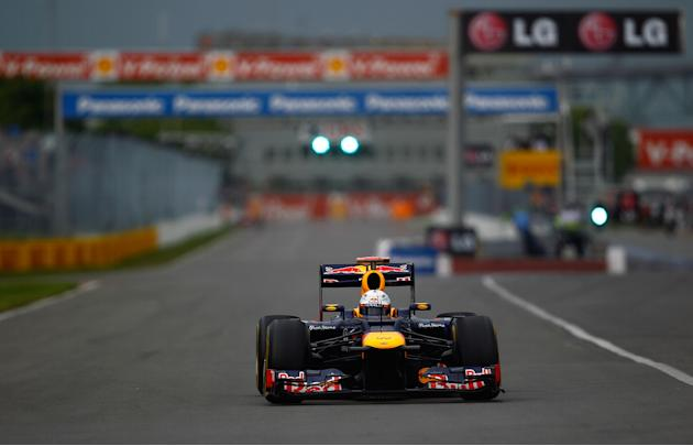 Canadian F1 Grand Prix - Practice
