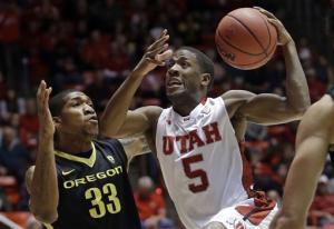 Washburn leads Utah past No. 19 Oregon 72-62