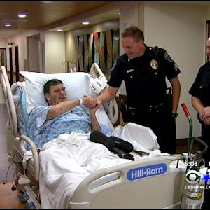 Man Injured In Fort Worth Fire Thanks His Heroes
