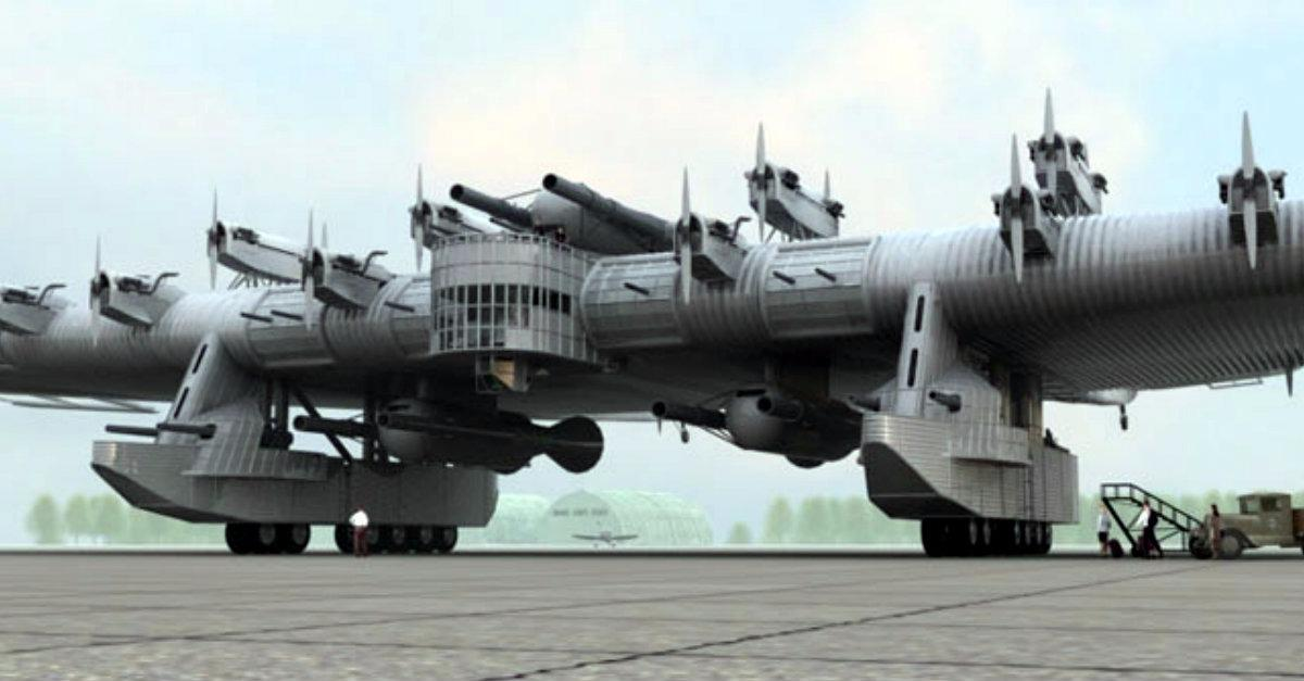 Behold, The Russian Flying Fortress!