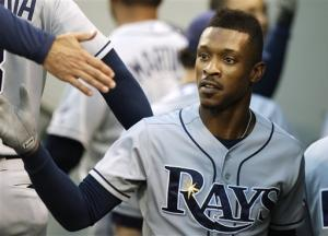 Upton leads Rays to 4-1 win over Mariners