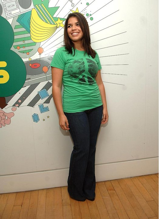 America Ferrera at MTV Studios in Times Square - 10/01/2007