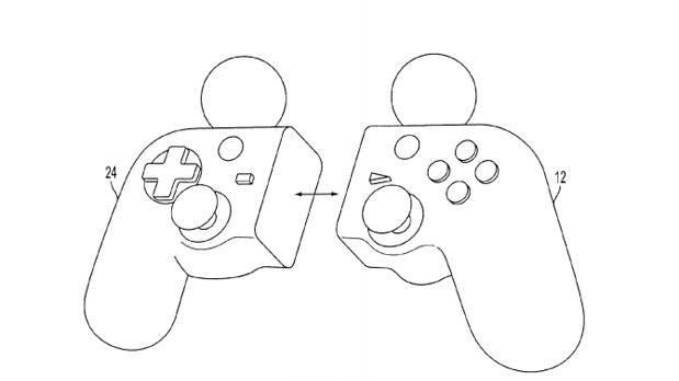 Sony's radical PlayStation 4 controller concept: A motion-control device you can split in half