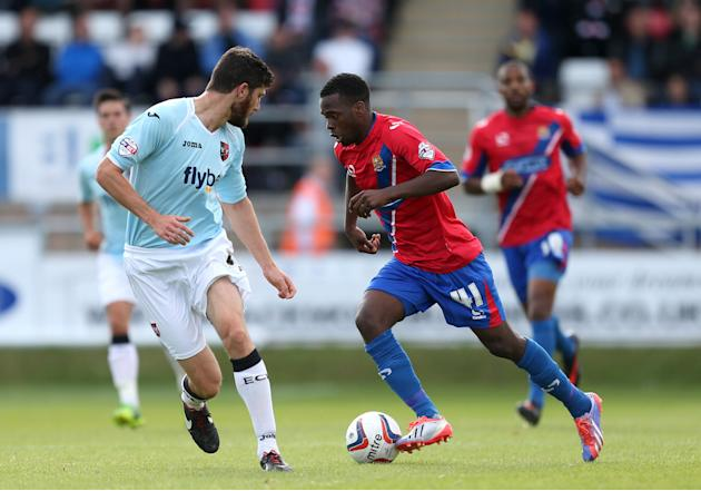 Soccer - Sky Bet Football League Two - Dagenham and Redbridge v Exeter City - London Borough of Barking and Dagenham Stadium