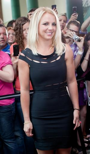 Britney Spears arrives at 'The X Factor' Season 2 auditions at the Greensboro Coliseum on July 8, 2012 -- Getty Images