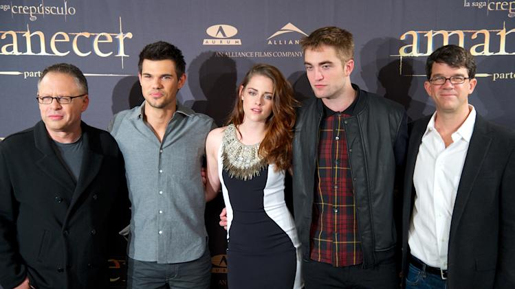 'Breaking Dawn - Part 2' Madrid Photocall